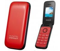 "Мобильный телефон Alcatel 1035D Pure White, 1,8"" (160х128), ""раскладушка"", 2Sim, 400мАч"