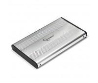 "Карман для HDD 2.5"": Gembird EE2-U2S-5-S SATA2.5"" -> USB 2.0, Серебристый"