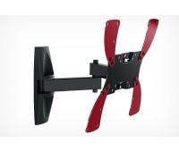 """Крепление для ТВ наклонно-поворотное 19""""-47"""" Holder нагрузка max 30 кг, наклон -20°/+20°, поворот 350°, от стены 65-510 мм , чёрный (LCDS-5046)"""