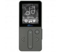 Плеер MP3 Ritmix 4 ГБ, Серый (RF-4910) Шагомер, счетчик калорий, радио, диктофон, видео, microSD