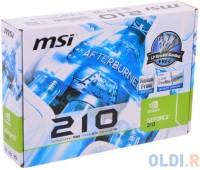 Видеокарта PCI-e: GF-FX GT210 MSI (1Gb, DDR3